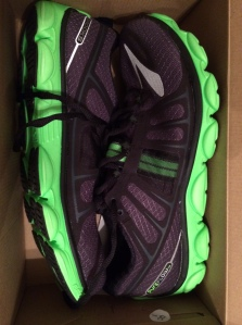 Brooks PureFlow 2 - My new shoes