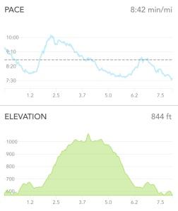 Mountain run PR